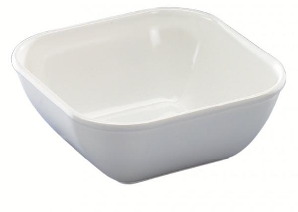 MeierMed Servierschüssel - Farbe: Weiß - Material: Melamin - Inhalt: 1000 ml