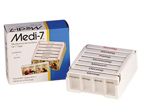 MeierMed Medi 7 Medikamentenbox / Wochendispenser
