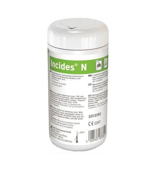 ECOLAB Incides® N | Dose mit 90 Desinfektionstücher