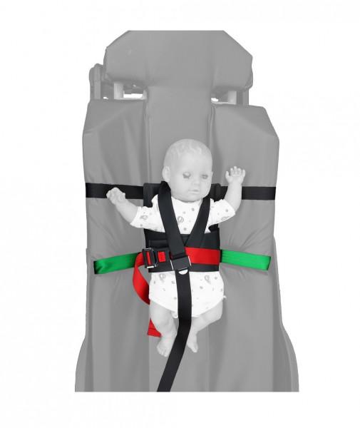 Schnitzler® 720 Nachrüstbares Kinder-Rückhaltesystem inkl. Tasche