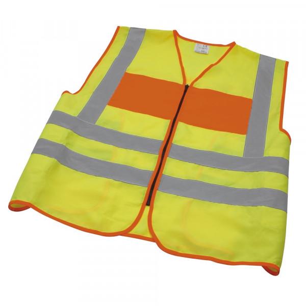 MeierMed Warnweste / Signalweste   Farbe: Gelb / Orange