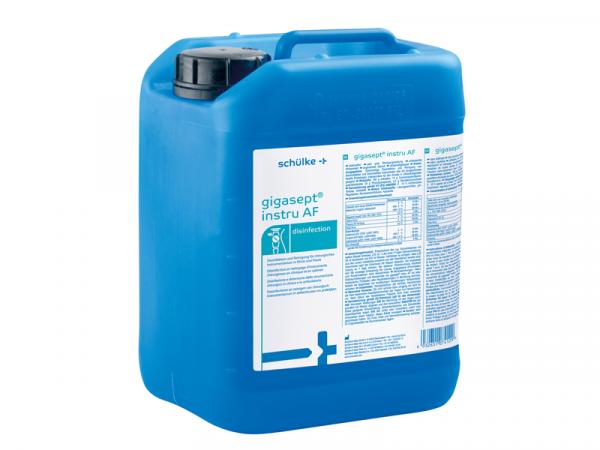 schülke gigasept® instru AF | Instrumentendesinfektionsmittel | 5 Liter Kanister