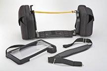 Physio-Control® Zubehör LIFEPAK® 12 - Tragetasche mit 2 Seitentaschen Frontabdeckung und Tragegurt