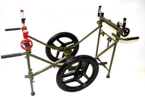 FLAMOR S.R.L Krankentragen-Fahrgestell Carrier EL 3000 Military | Farbe: Olivgrün