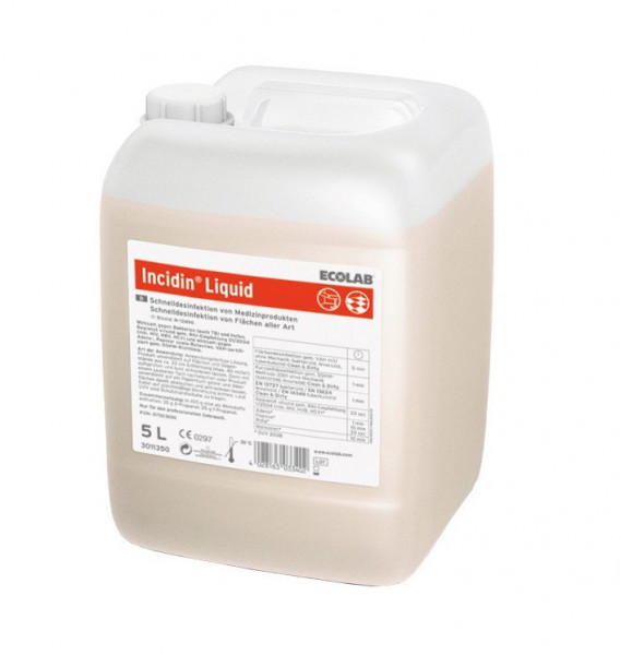 ECOLAB Incidin™ Liquid | 5 Liter Kanister