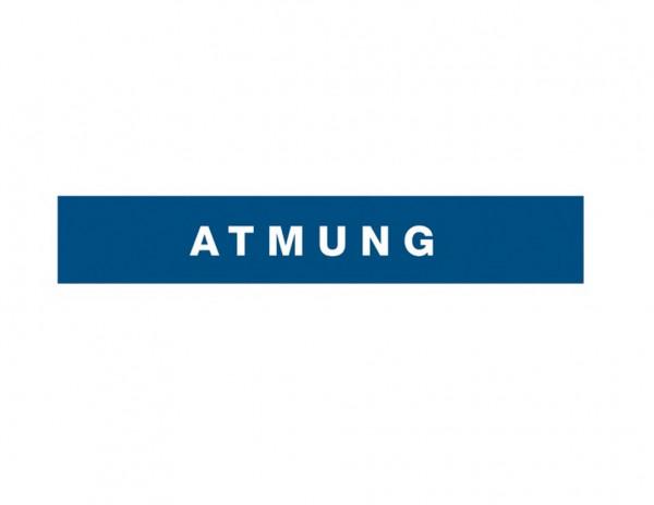 Weinmann Kofferaufkleber Atmung | Farbe: Blau reflektierend