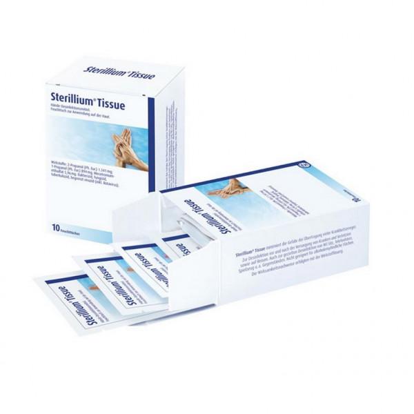BODE Sterillium® Tissue Desinfektionstücher | Packung á 10 Stück