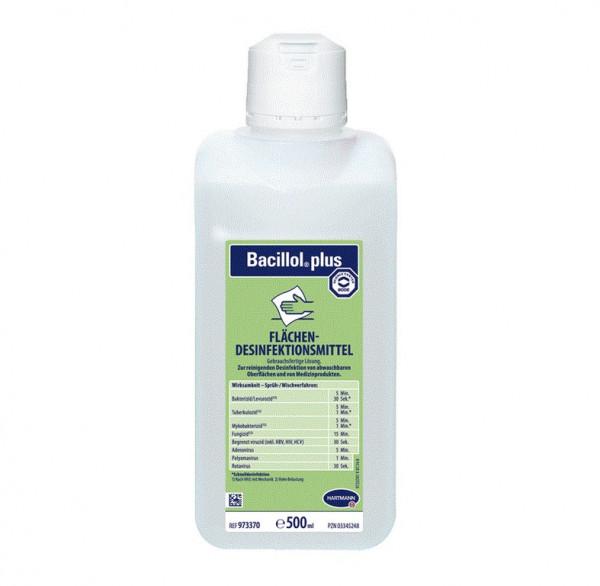 BODE Bacillol® plus Schnell-Desinfektionsmittel | 500 ml Flasche
