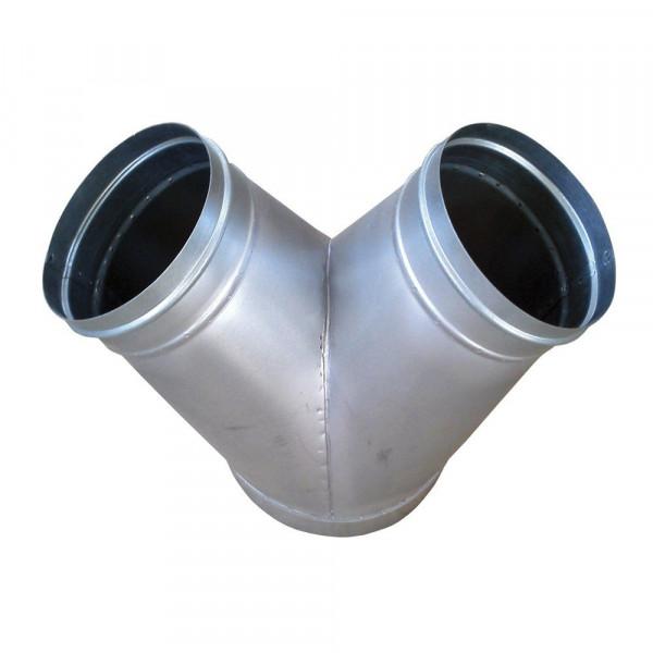 MeierTec Y-Verteiler / Luftverteilstück für Zeltheizung ACD Heater 30 L / S