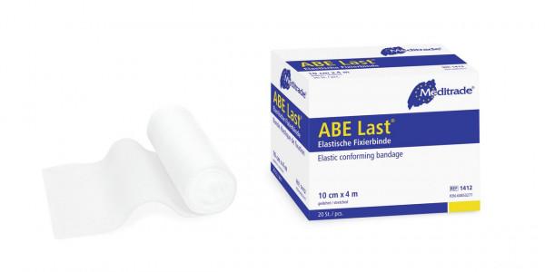 Meditrade® ABE Last® Fixierbinde| lose in Faltschachtel | Größe: 6 cm x 4 m | Packung á 20 Stück