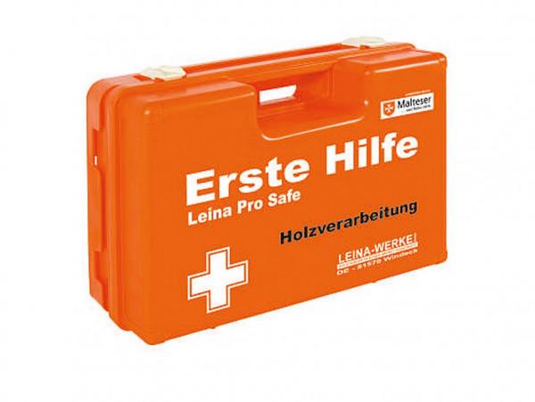 LEINA WERKE Erste Hilfe-Koffer Pro Safe / SAN DIN 13157 | Ausführung: Holzverarbeitung