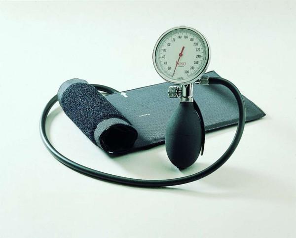 BOSO roid I Blutdruckmessgerät Ø 60 mm - mit Klettmanschette - Einschlauch