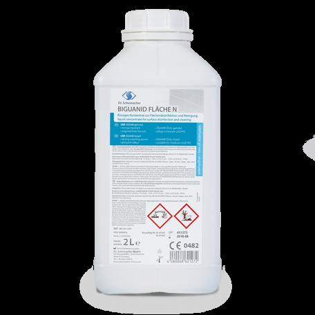 Dr. Schumacher Biguanid® Fläche N Flächendesinfektion | 2 Liter Flasche