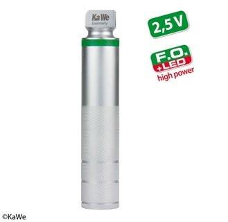 KaWe F.O. Laryngoskop Batteriegriff - Ohne Akku - LED high power - Stärke: 2,5 V - Größe: mittel