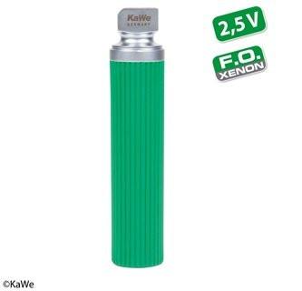 KaWe F.O. Laryngoskop Batteriegriff - Economy Grün - Xenon - Stärke: 2,5 V - Größe: Mittel