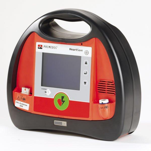 Primedic™ HeartSave® AED 6S mit wiederaufladbarem Akku-Pak und Pulsoximetrie