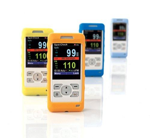 mindray Schutzhülle für Hand-Pulsoximeter PM 60 | OxiPlus 400 | Farbe: Orange