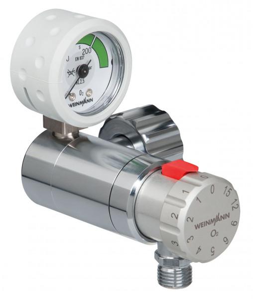 Weinmann OXYWAY Fast I Sauerstoff Druckminderer | Anschlussbolzen: 30 mm