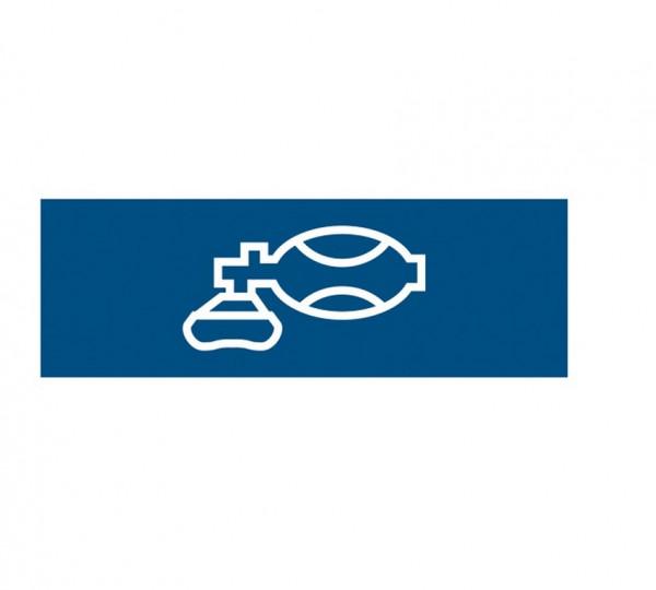 Weinmann Aufkleber Normsymbol | Ausführung: Beatmung
