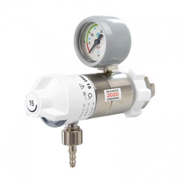 AEROway® FAST 15 Sauerstoff Druckminderer