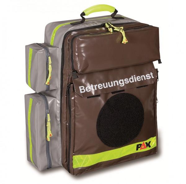PAX® Notfallrucksack Betreuungsdienst | Material: PAX®-Plan | Farbe: Braun