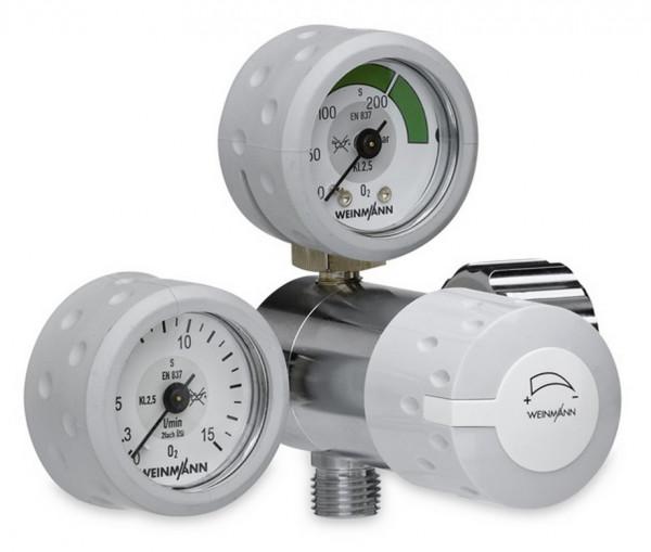 Weinmann OXYWAY Fine I Sauerstoff Druckminderer | Anschlussbolzen: 30 mm