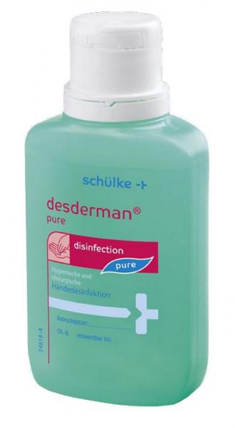 schülke desderman® pure | Händedesinfektion | 100 ml Taschenflasche