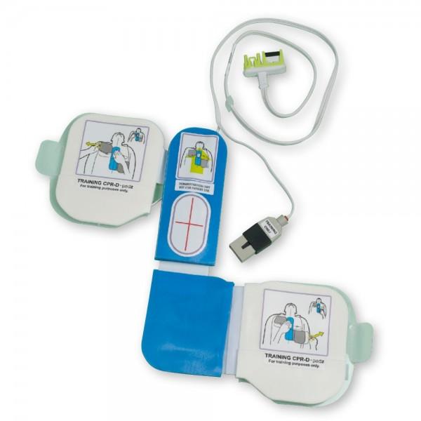 ZOLL® AED-Plus® Trainings-Elektrode / Demo-Elektrode mit CPR-D mit Herzdrucksensor