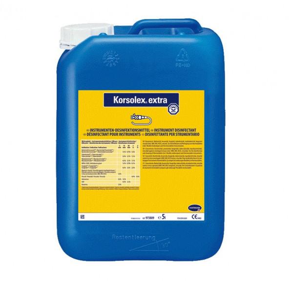 BODE Korsolex® extra Instrumentendesinfektionsmittel | 5 Liter Kanister