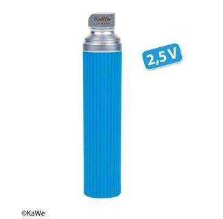KaWe Warmlicht Laryngoskop Batteriegriff - Economy Blau - Stärke: 2,5V - Größe: Mittel