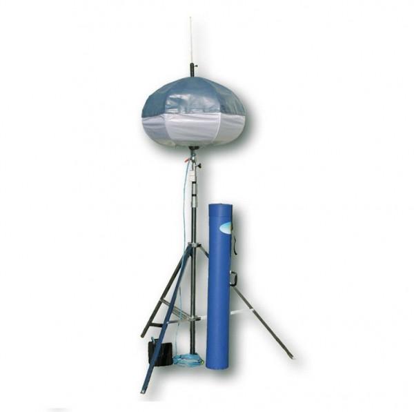 POWERMOON® Profi 1 Evolution - Leuchtmittel 1 x 1000W HQI - mit Kugelkopf und PVC-Transportzylinder
