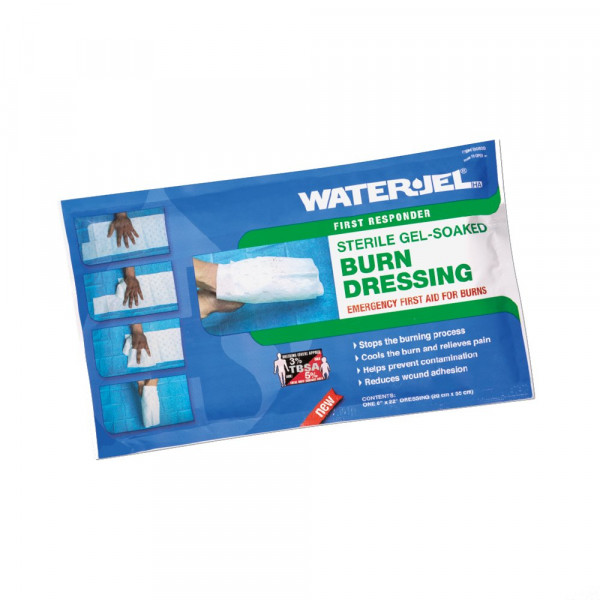 Water Jel® HA First Responder Handkompresse | steril | 20 x 55 cm