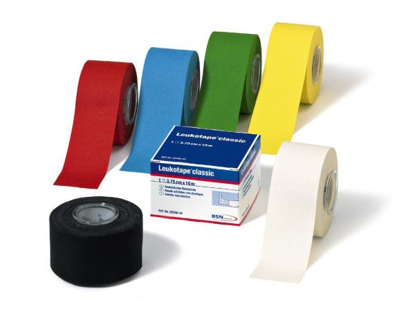 BSN medical Leukotape® classic color - 3,75 cm x 10 m - Farbe: Blau - Packung á 5 Stück