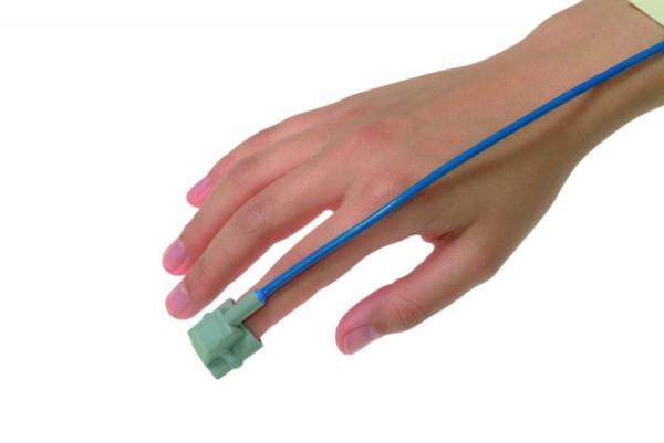 Envitec SpO2 SoftTip® Fingersensor | BCI | 120 cm Kabel | Kinder