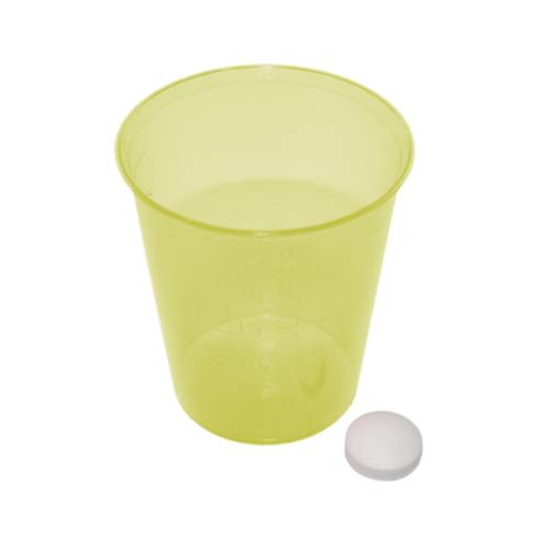 MeierMed Einnehmebecher - Farbe: Gelb - Packung á 2400 Stück