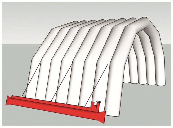 AIRSHELTER® Ballasttanks für Airshelter II - 2 Stück