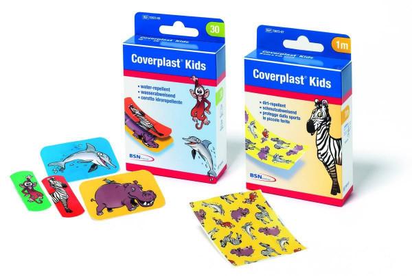 BSN medical Coverplast® Kids Wundschnellverband | Größe: 6 cm x 1 m
