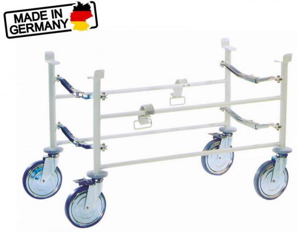ultraMEDIC® ultraROLLER II Fahrgestell DIN 13034 für Krankentragen   klappbar
