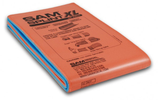 SAM® SPLINT XL Universalschiene - Abmessung: 14 cm x 91,44 cm - Ausführung: gefaltet