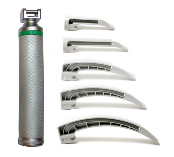 Intersurgical® Laryngoskop Notfall Set mit Einmal-Kaltlicht-Spatel