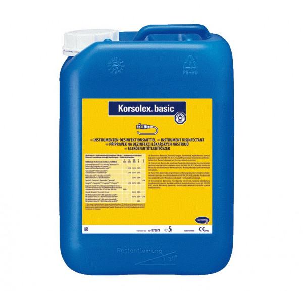 BODE Korsolex® basic Instrumenten-Desinfektionsmittel | 5 Liter Kanister