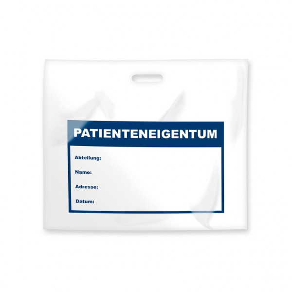DEISS First Tragetasche Patienten-Eigentum | Packung á 50 Stück