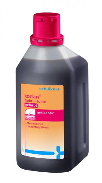 schülke kodan® Tinktur forte Hautdesinfektion | gefärbt | 1000 ml Flasche