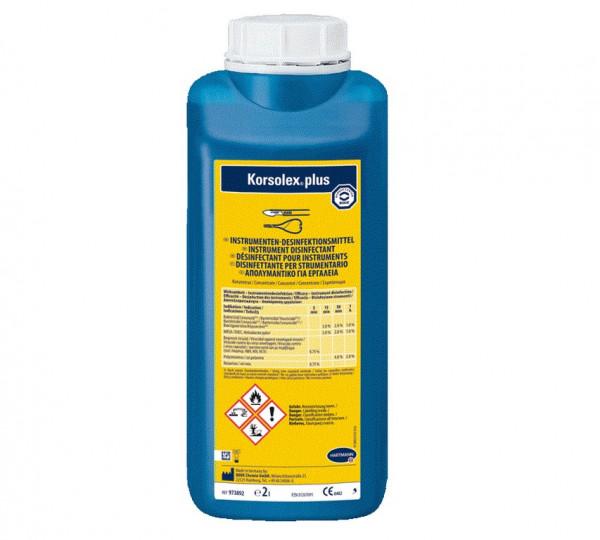 BODE Korsolex® plus Instrumentendesinfektion | 2 Liter Flasche