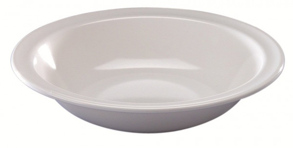 MeierMed Teller Tief - Farbe: Weiß - Material: Melamin