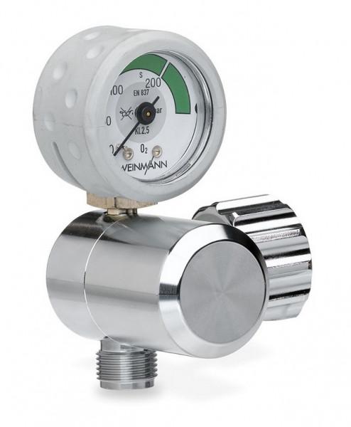 Weinmann OXYWAY Fix III Sauerstoff Druckminderer   Abgang: 190 l/min   Bolzen: 30 mm