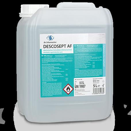 Dr. Schumacher DESCOSEPT® AF Schnelldesinfektion | 5 Liter Kanister