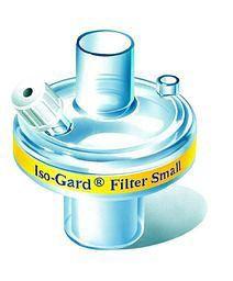 Iso-Gard® Beatmungsfilter Small mit CO2-Anschluss - Erwachsene und Kinder