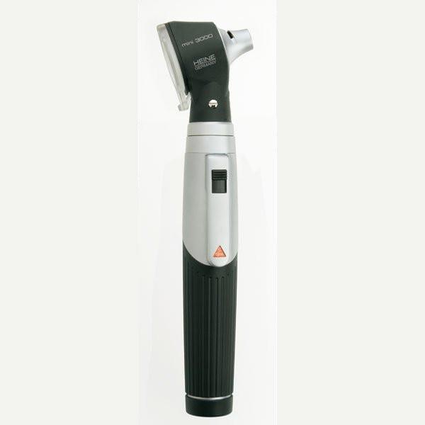 HEINE mini 3000® Otoskop mit Einweg-Tips | XHL Xenon Halogen | Farbe: Schwarz