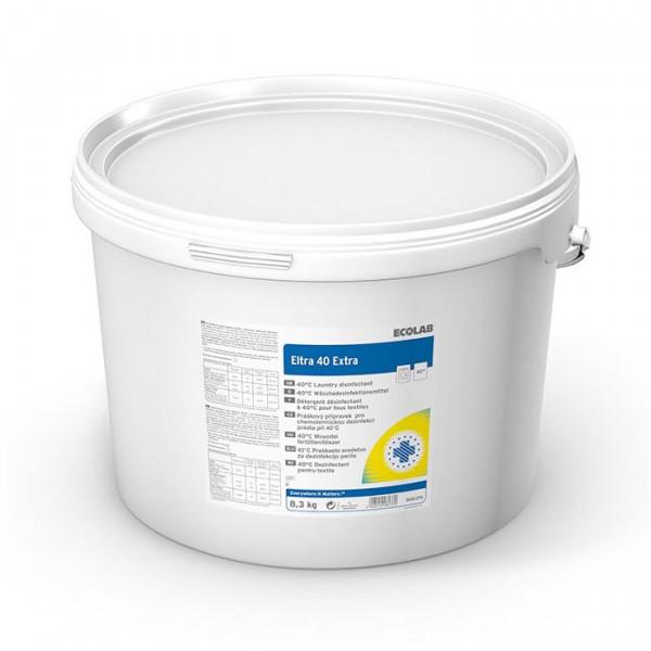 ECOLAB Eltra 40 EXTRA® Desinfektionsvollwaschmittel | 8,3 kg Eimer